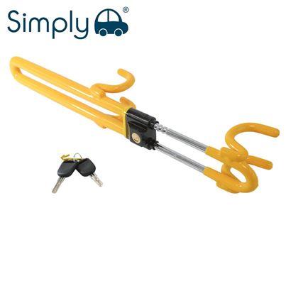 Simply Simply Traditional Steering Wheel Lock