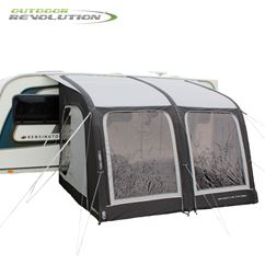 Outdoor Revolution Sportlite Air 320 Caravan Awning With FREE Carpet - New For 2021