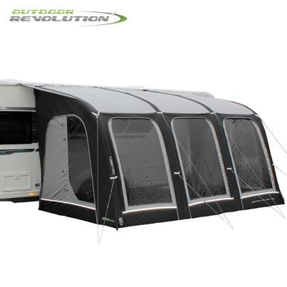 Outdoor Revolution Outdoor Revolution Sportlite Air 400 Caravan Awning With FREE Carpet - New For 2021