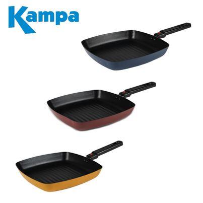 Kampa Kampa Square Non Stick Camping Frying Pan