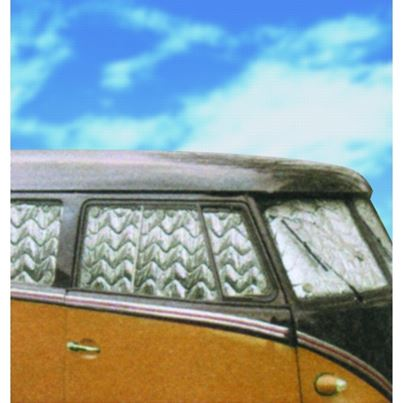 Summit VW T2 Split 11 Window - Internal Thermal Blinds