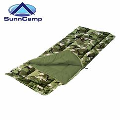 SunnCamp Camouflage Junior Sleeping Bag - New for 2018