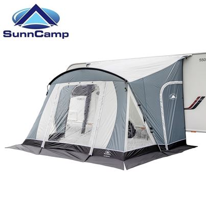 SunnCamp SunnCamp Swift 325 SC Deluxe Caravan Awning With FREE Carpet - 2020 Model
