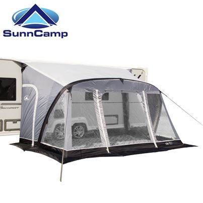 SunnCamp SunnCamp Swift Air 390 Caravan Awning With FREE Awning Carpet