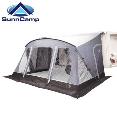 SunnCamp SunnCamp Swift 390 SC Deluxe Caravan Awning With FREE Carpet - 2020 Model