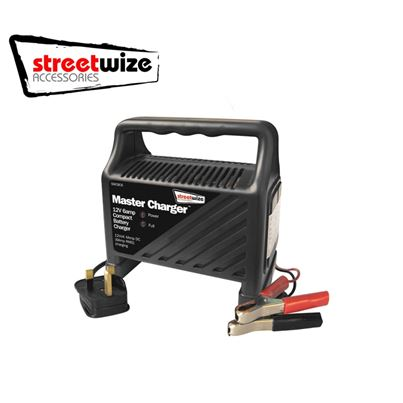 Streetwize Streetwize 12V 6AMP Compact Battery Charger