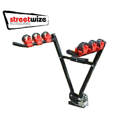Streetwize Streetwize Tow Ball Mounted 3 Bicycle Carrier SWCC5