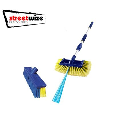 Streetwize Streetwize Blaster Brush Kit For Caravans & Motorhomes