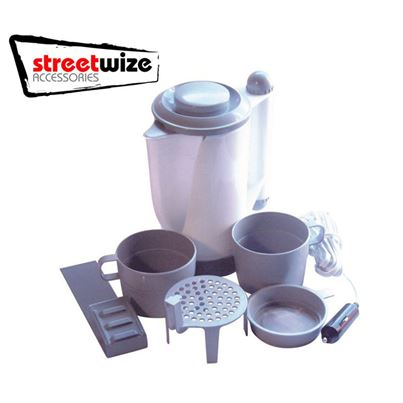 Streetwize Streetwize 12V In Car Travel Kettle