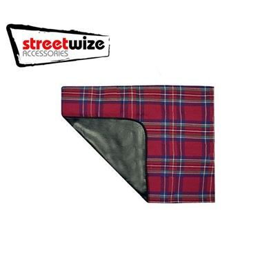 Streetwize Streetwize Picnic Rug with PVC Backing - 150 x 135 cm