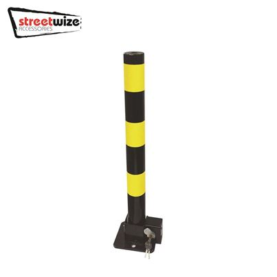 Streetwize Heavy Duty Round Folding Parking Bollard