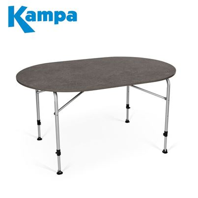 Kampa Dometic Kampa Dometic Zero Concrete Table Oval - New For 2020