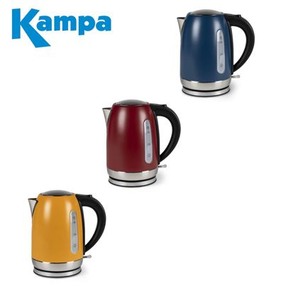 Kampa Kampa Tempest Electric Kettle 1.7 Litre - Range Of Colours - 2021 Colours