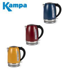 Kampa Tempest Electric Kettle 1.7 Litre - Range Of Colours - 2021 Colours