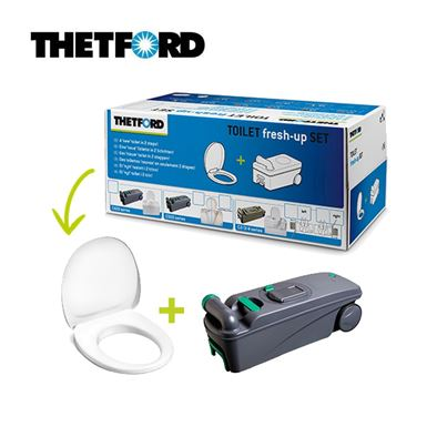 Thetford Thetford Toilet C400 Toilet Fresh Up Set