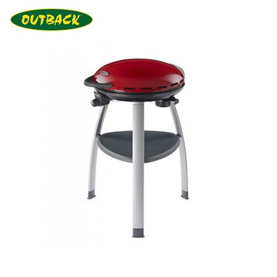Outback Outback Trekker Barbecue Compact Gas BBQ in Red With Regulator