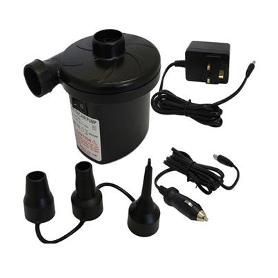 Yellowstone 240V/12V Dual Electric Pump - Air Beds & Inflatables